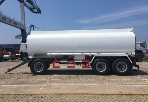 20 Cbm Fuel Tanker Full Trailer For Sale