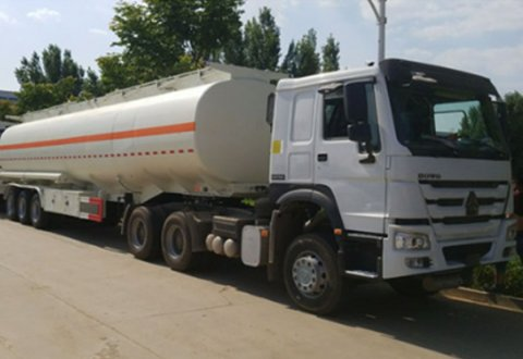 Oil/milk/chemical transport 3axles tanker semitrailer