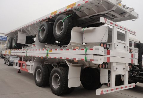 2 Axles container semitrailer