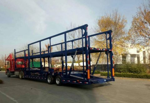 3 Axles Car Carrier Semi Trailer for 8 Cars