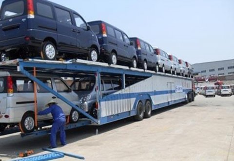 17m Car Carrier Semi Trailer for 10 Units SUV / Cars