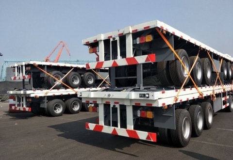 40FT/20FT Flatbed Semi Trailer