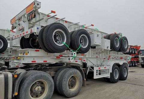 CIMC 2 Axles Skeleton Trailer