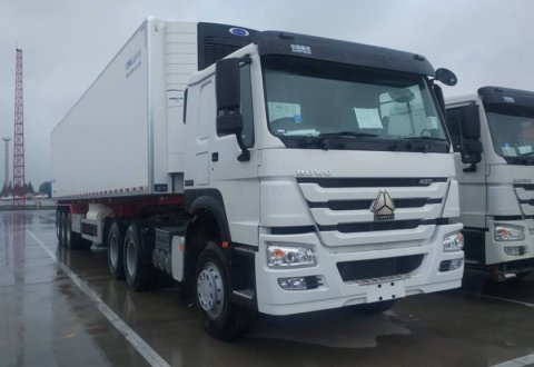 CIMC 30 Tons Refrigerated Semi Trailer