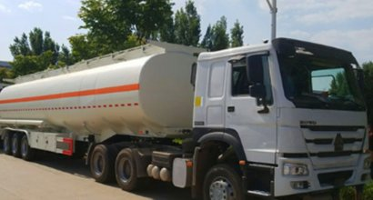 china Semi Trailer delivery and transportation process